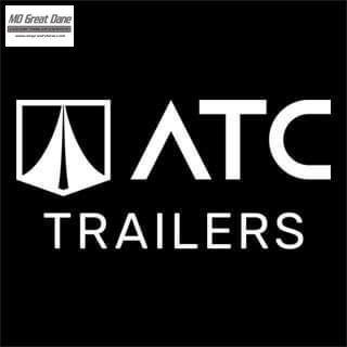 2022 ATC 8.5 x 24 Quest Limited Aluminum Car / Racing Trailer EXP COMPLETION DECEMBER - Black