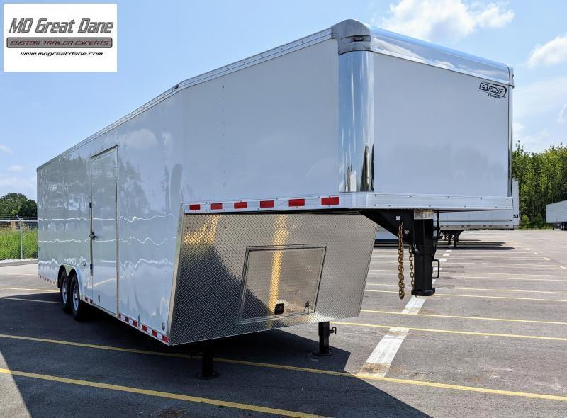 2022 Bravo Trailers Star Gooseneck 8 5 x 32 Cargo Enclosed Trailer EXPECTED COMPLETION NOV