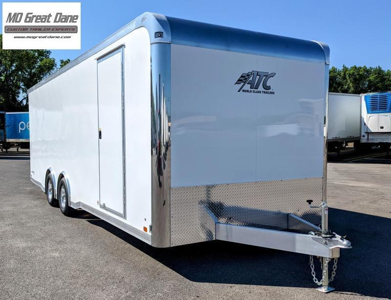 2022 ATC 8.5 x 24 Raven Limited Aluminum Car / Racing Trailer EXP COMPLETION DECEMBER