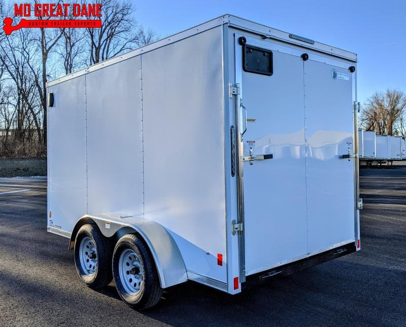 2021 Darkhorse Cargo 6.5 x 12 Tandem V-Nose Enclosed Cargo Trailer