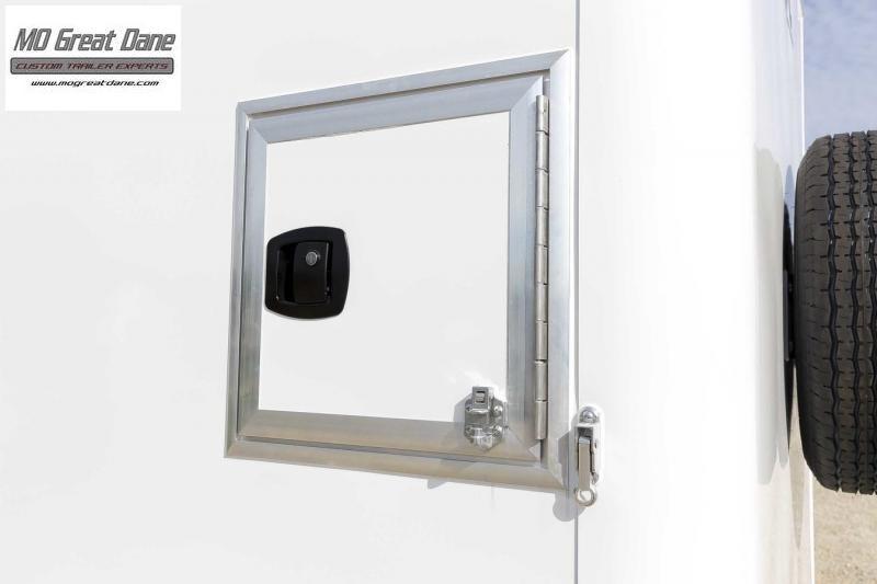 2021 ATC QUEST 6 X 10 Aluminum Fiber Optic Splicing Trailer