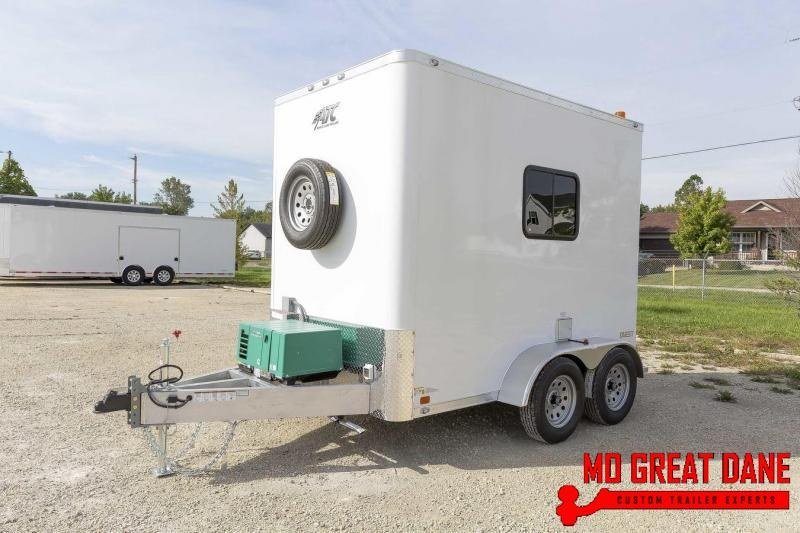 2021 ATC QUEST 6 X 10 Fiber Optic Splicing Trailer