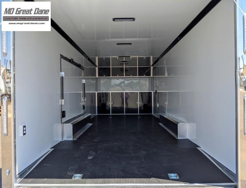 2022 ATC QUEST 8.5 x 24 CH305 Aluminum Car / Racing Trailer EXP COMPLETION JULY