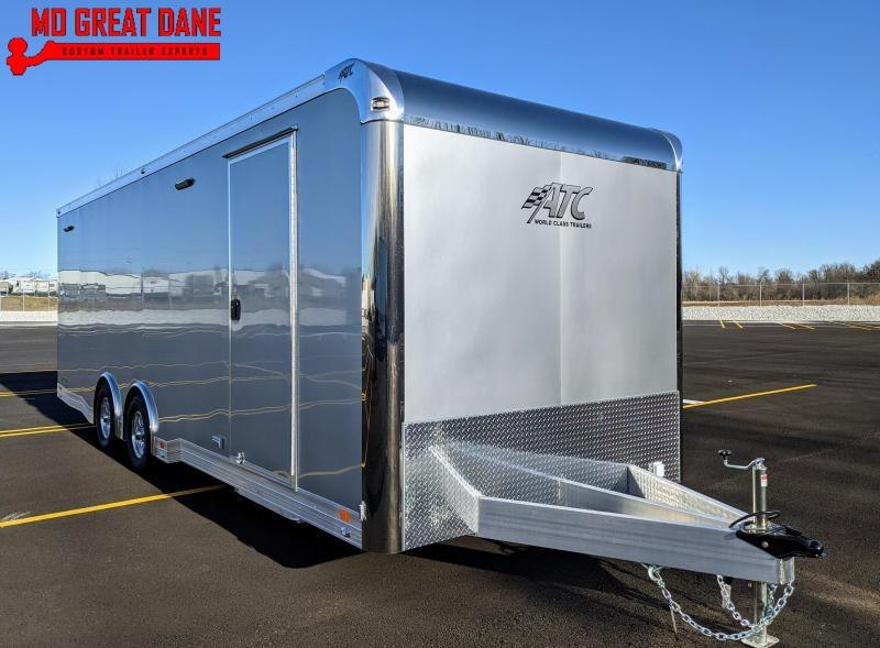 2021 ATC QUEST 8.5 x 24 CH305 Car / Racing Trailer EXP COMPLETION APRIL 2022