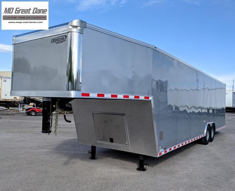 2022 Bravo Trailers Star Gooseneck 8.5 x 36 Car / Racing Trailer EXP COMPLETION OCTOBER