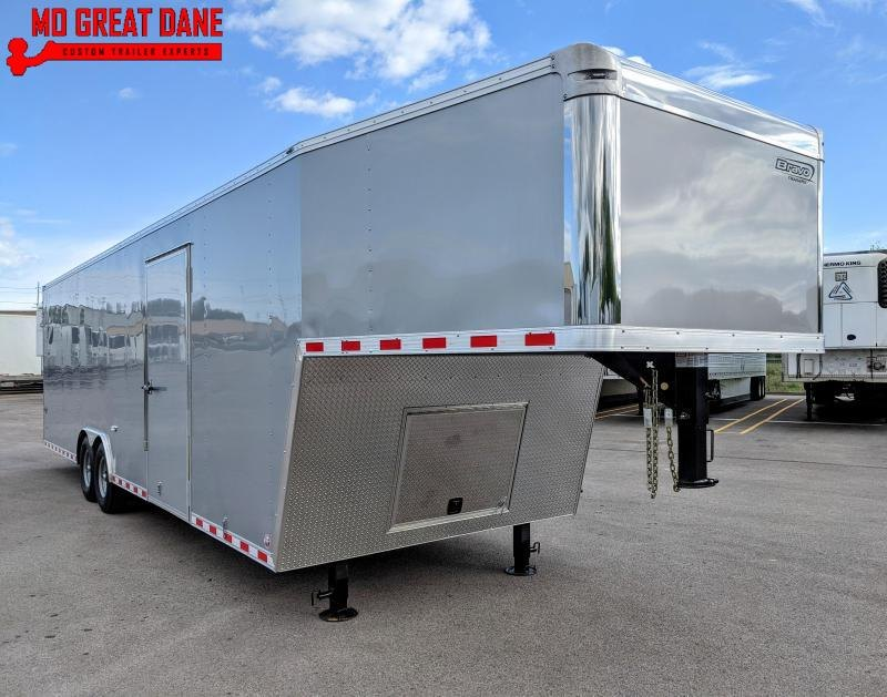 2022 Bravo Trailers Star Gooseneck 8.5 x 36 Car / Racing Trailer EXP COMPLETION OCT