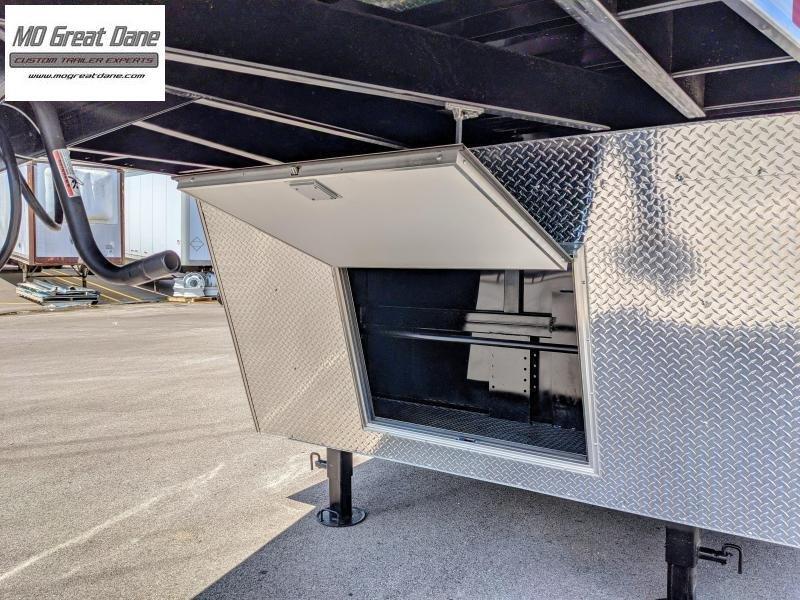 2022 Bravo Trailers Star Gooseneck 8.5 x 36 Car / Racing Trailer EXP COMPLETION SEPTEMBER