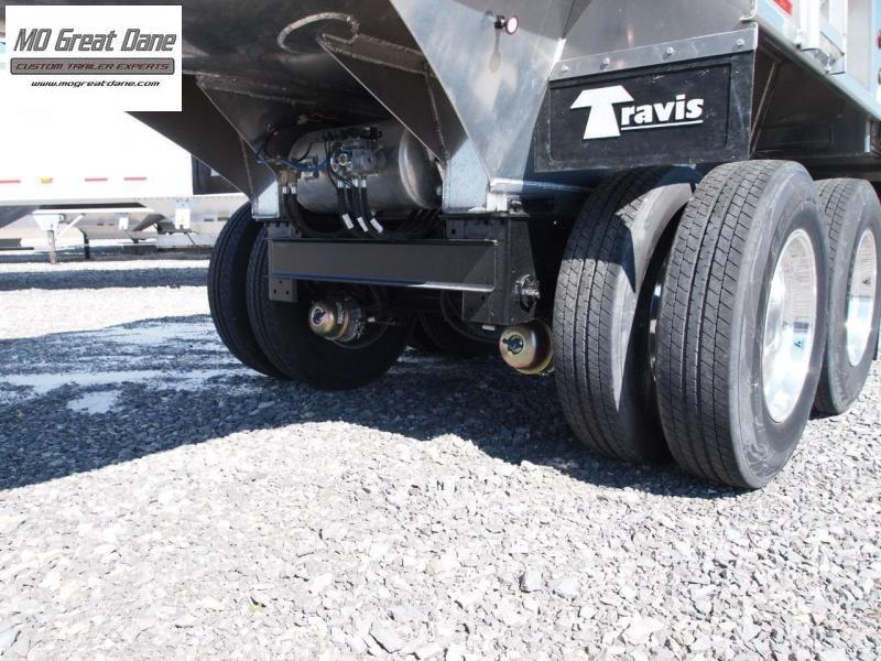 2022 Travis Half Round Alumatech Dump