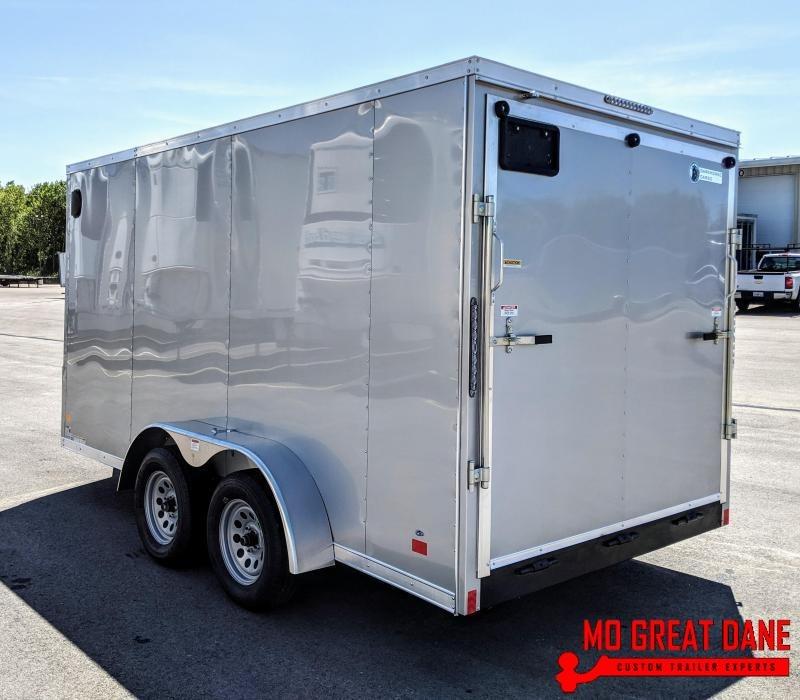 "2021 Darkhorse Cargo 7 x 14 V-nose 78"" Interior Cargo / Enclosed"