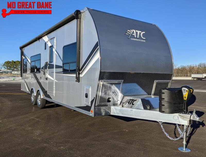 2021 ATC (2816) Game Changer Front Bedroom Aluminum Toy Hauler RV