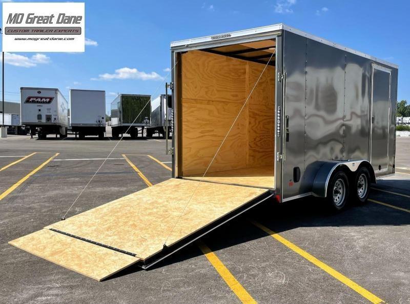 "2022 Darkhorse Cargo 7 x 14 - 84"" Interior V-Nose Cargo / Enclosed"