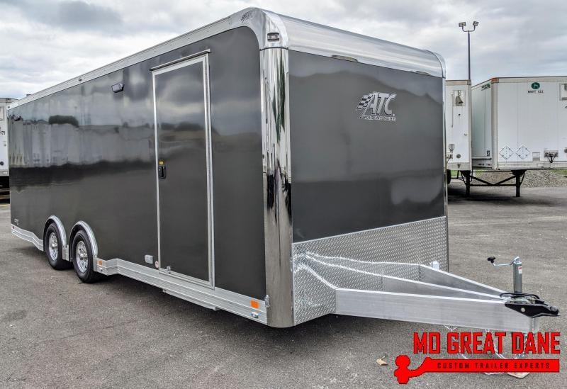 2021 ATC QUEST 8.5 x 24 CH305 Aluminum Car / Racing Trailer