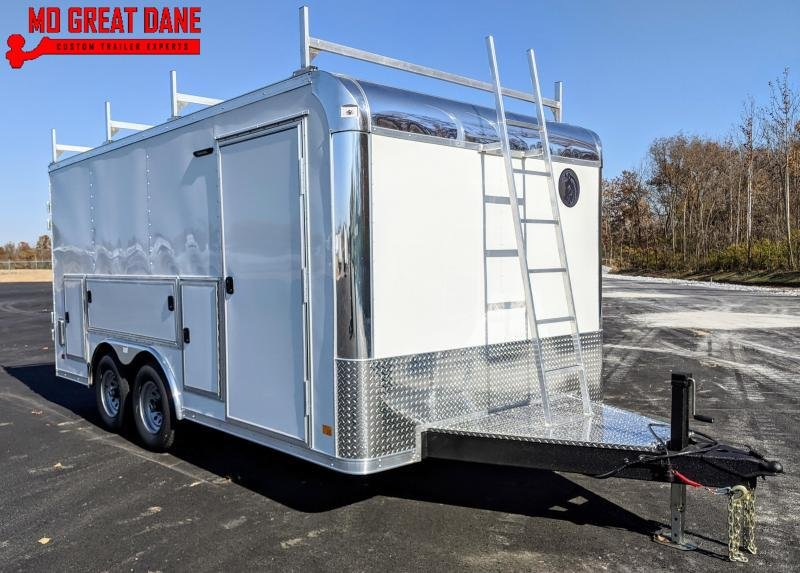 2021 Darkhorse Cargo DHWR 8.5 x 16 Tool Crib Enclosed Cargo Trailer