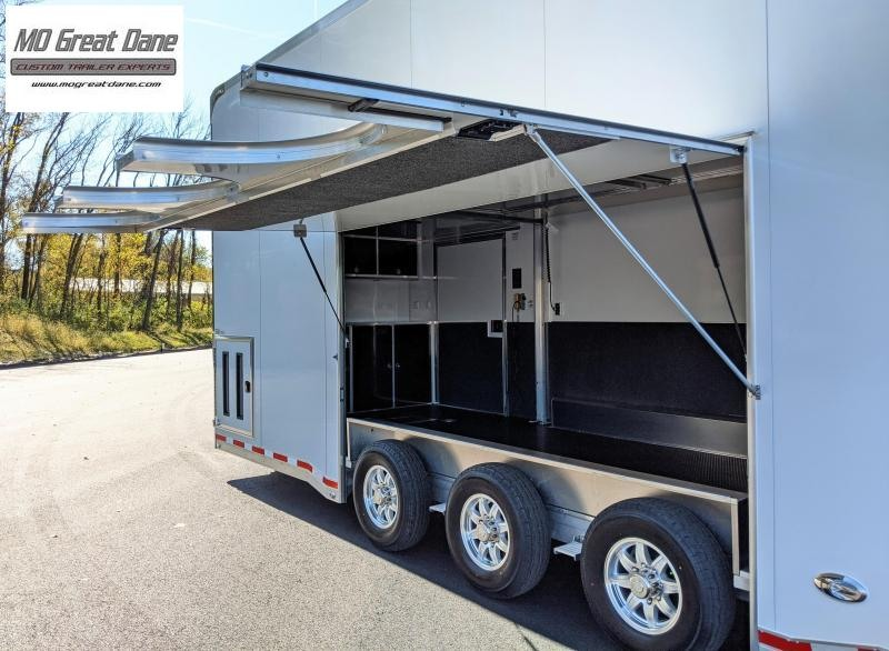 2021 ATC QUEST 8.5 x 26 ST305 Stacker Trailer EXPECTED COMPLETION AUGUST