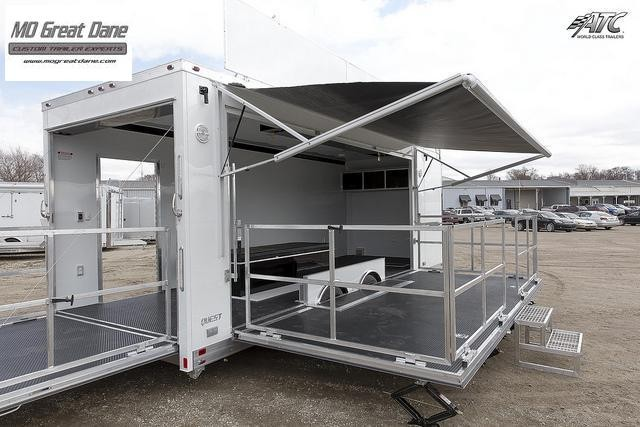 2022 Mobile Marketing Stage Trailer, Experiential Marketing Trailer