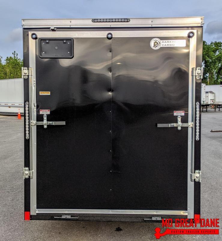 2021 Darkhorse Cargo 6 x 12 V-Nose Enclosed Cargo Trailer