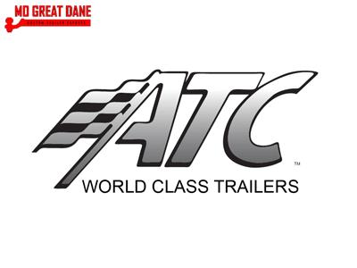 2021 ATC RAVEN 7 x 14 V-Nose Aluminum Motorcycle Trailer