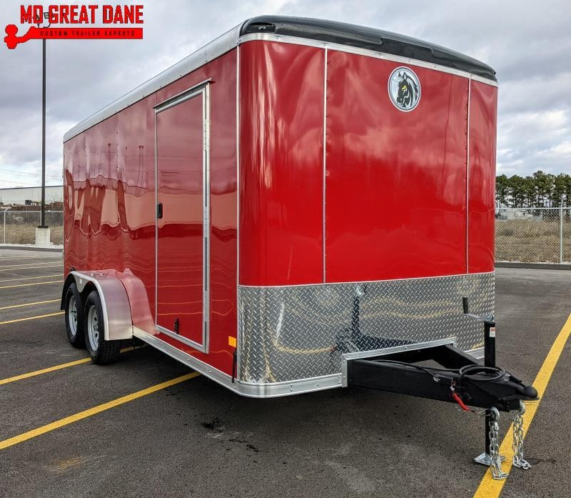 2021 Darkhorse Cargo DHR 7 x 16 Enclosed Cargo