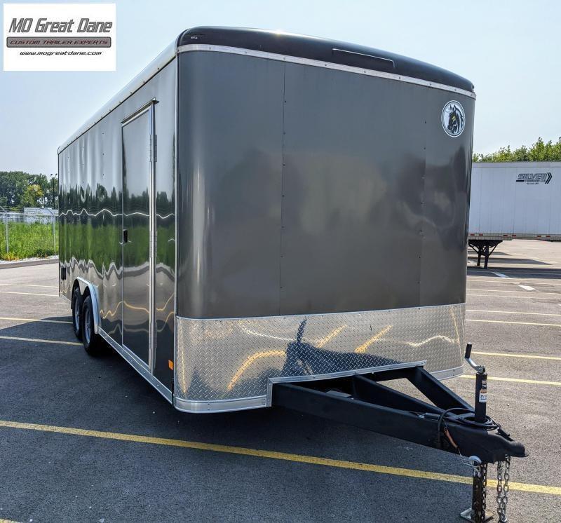 USED 2020 Darkhorse Cargo DHR 8.5 x 20 Enclosed Cargo Trailer