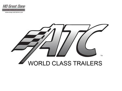 2022 ATC QUEST 7.5 x 14 MC300 Aluminum Motorcycle Trailer EXP COMPLETION JULY