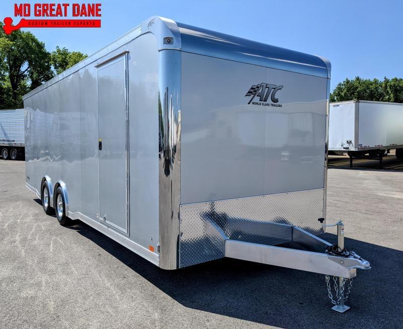 2021 ATC 8.5 x 24 Raven Limited Aluminum Car / Racing Trailer