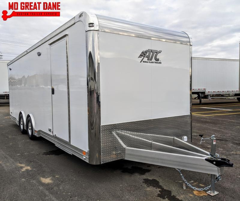 2021 ATC QUEST 8.5 x 24 CH405 Aluminum Car / Racing Trailer EXP COMPLETION JULY