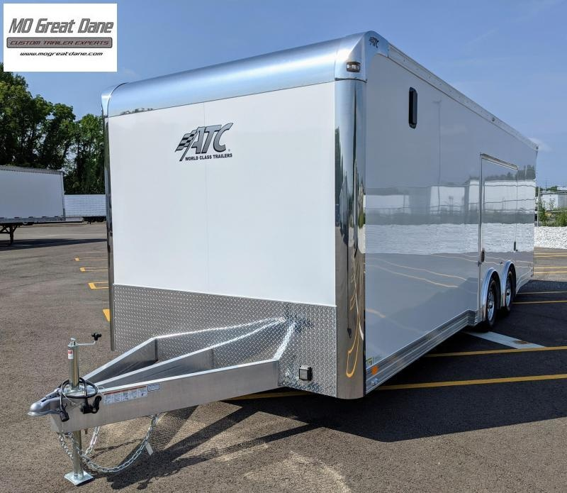 2022 ATC 8.5 x 24 Quest Limited Deluxe Aluminum Car / Racing Trailer EXP COMPLETION AUGUST