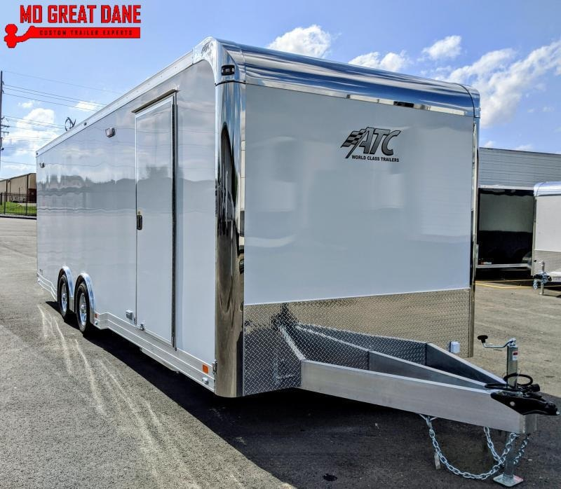2022 ATC QUEST 8.5 x 24 CH305 Aluminum Car / Racing Trailer EXP COMPLETION APRIL 2022