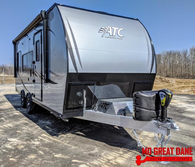 2021 ATC ARV 8.5 x 20 Front Bath Aluminum Toy Hauler RV