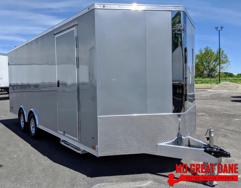 2021 ATC RAVEN 8.5 x 20+2 Aluminum Car / Racing Trailer