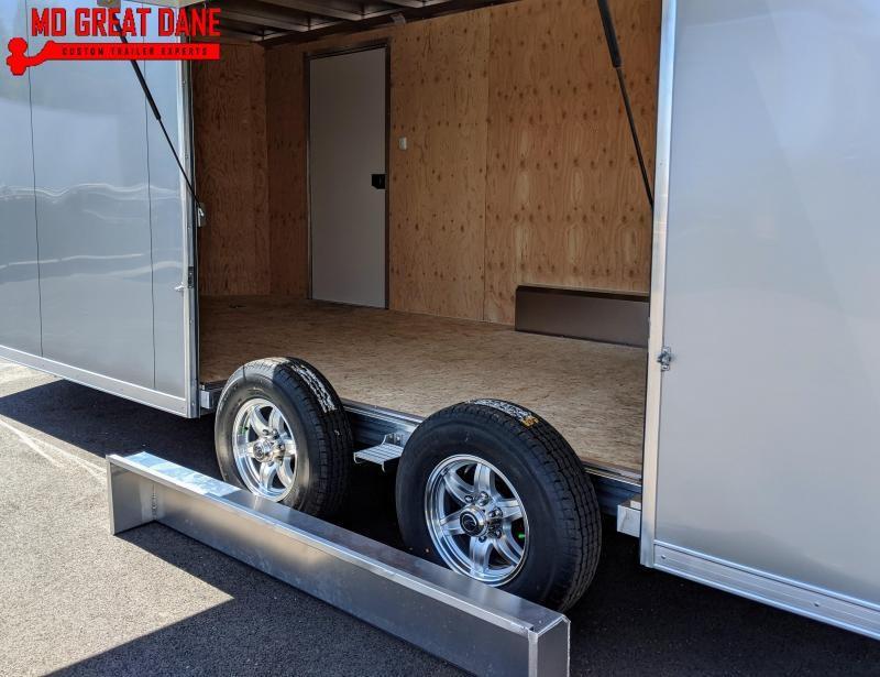2021 ATC RAVEN 8.5 x 20 V-NOSE Aluminum Car / Racing Trailer
