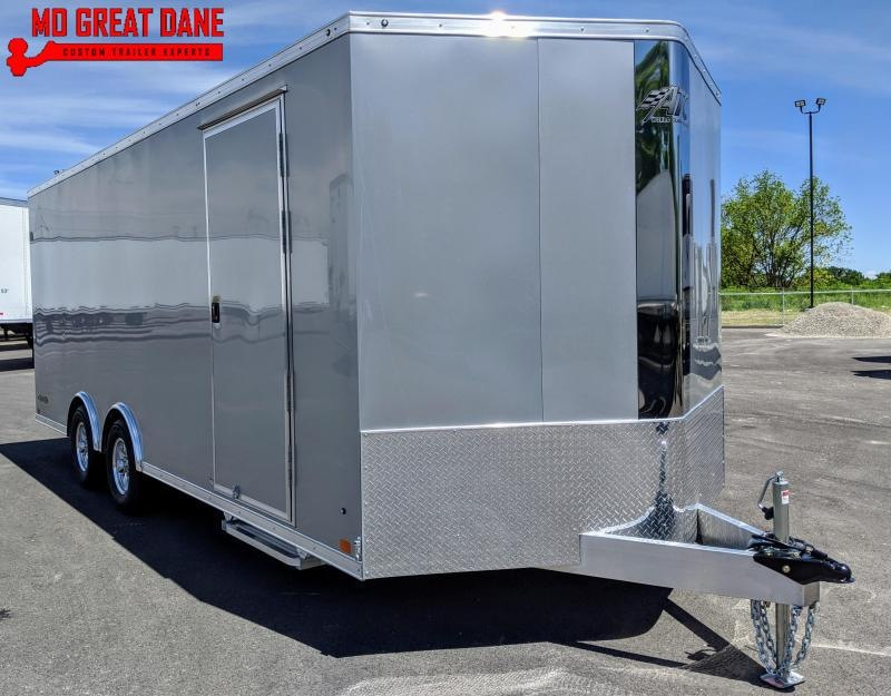 2021 ATC RAVEN 8.5 x 20 V-NOSE Aluminum Car / Racing Trailer