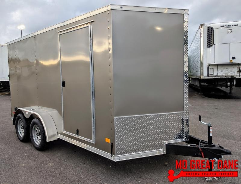 "2020 Darkhorse Cargo 7 x 14 V-nose 78"" Interior Cargo / Enclosed"