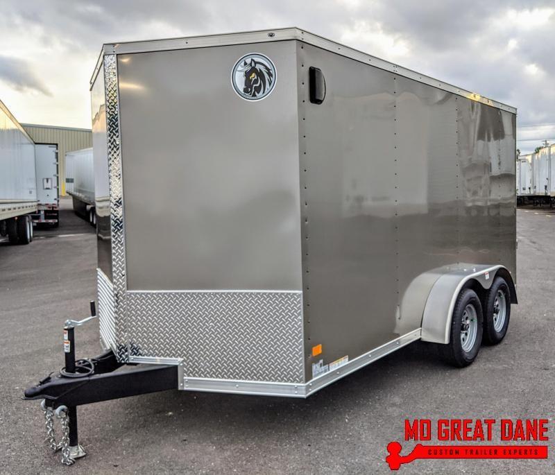 2020 Darkhorse Cargo 7 x 14 V-nose Cargo / Enclosed