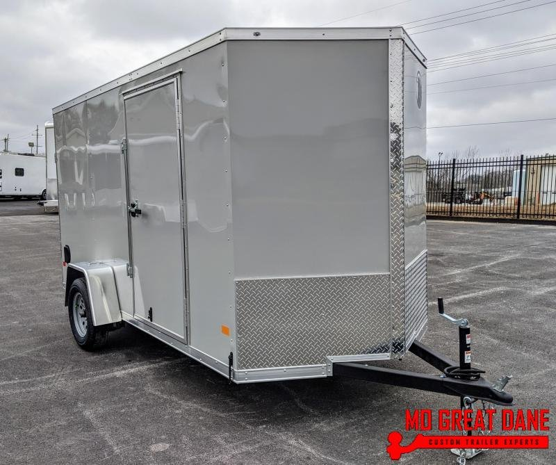 2021 Darkhorse Cargo 6 x 12 V-Nose Enclosed Cargo Trailer