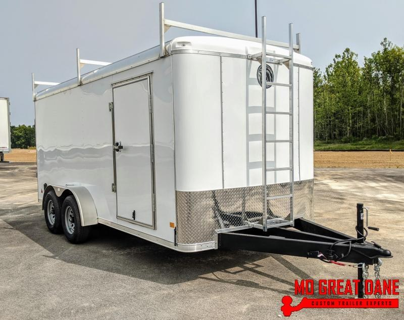 2021 Darkhorse Cargo DHR 7 x 16 Enclosed Cargo / Contractor Trailer (9990 GVWR)