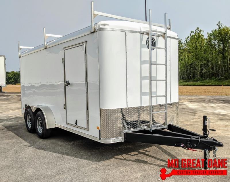 2021 Darkhorse Cargo DHR 7 x 16 Enclosed Cargo / Contractor Trailer (9990 GVWR)
