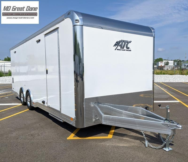 2022 ATC 8.5 x 24 Quest Limited Deluxe Aluminum Car / Racing Trailer EXP COMPLETION SEPTEMBER