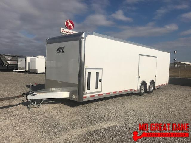 2021 ATC QUEST 8.5 x 28 CH305 Aluminum Car / Racing Trailer