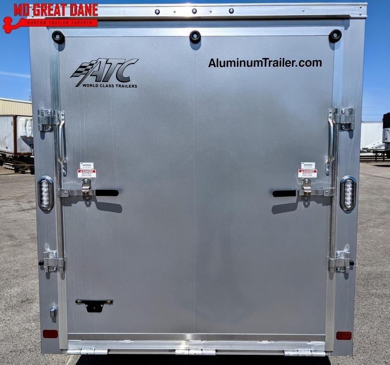 2022 ATC 6 x 12 Raven Cargo Aluminum Enclosed Cargo Trailer