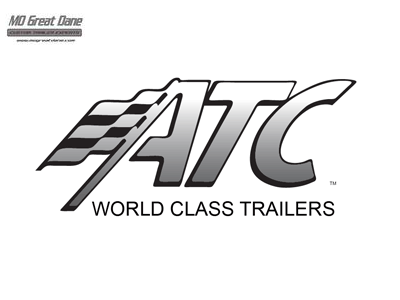 2022 ATC 8.5 x 28 Raven Limited Aluminum Car / Racing Trailer EXP COMPLETION JULY
