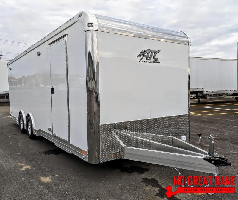 2021 ATC QUEST 8.5 x 24 405CH Aluminum Car / Racing Trailer