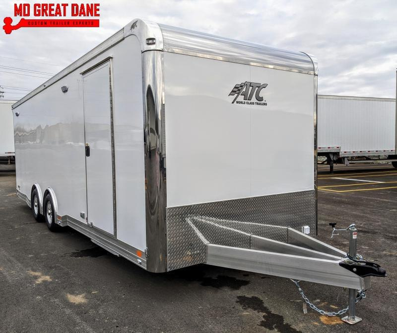 2021 ATC QUEST 8.5 x 24 CH405 Aluminum Car / Racing Trailer