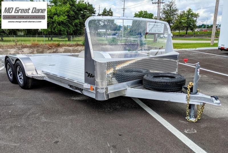 2022 Hillsboro Industries CH18RD Aluminum Open Car / Racing Trailer