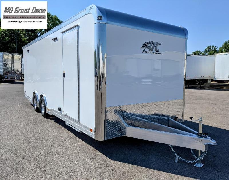 2022 ATC 8.5 x 24 Quest Limited Aluminum Car / Racing Trailer EXP COMPLETION JANUARY 2022