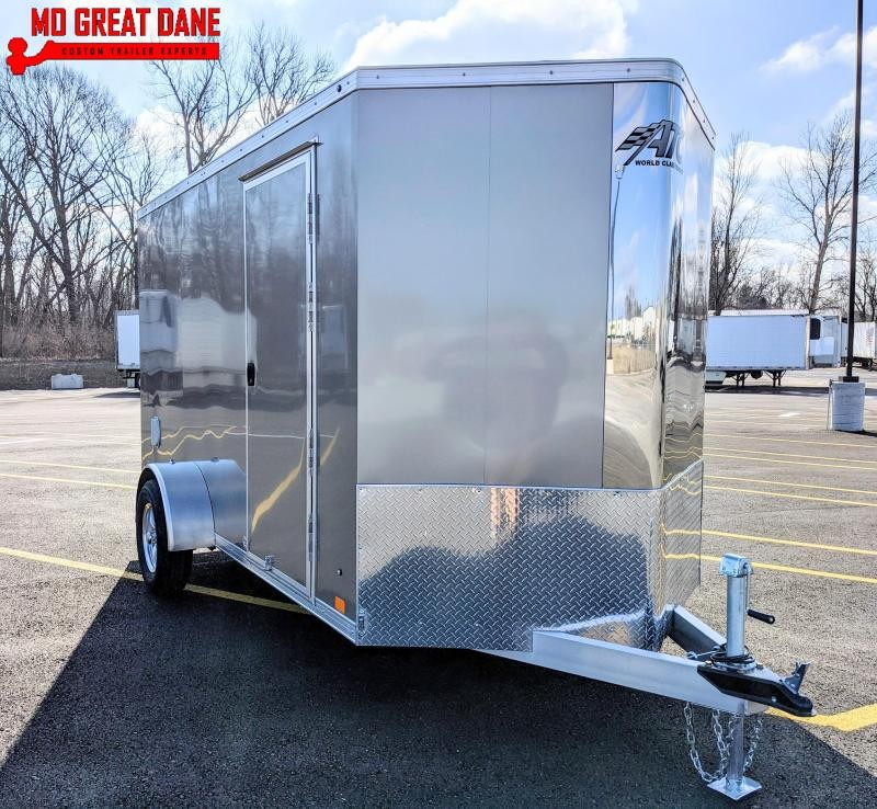 2021 ATC RAVEN 6 x 12 V-Nose Aluminum Cargo / Enclosed Trailer