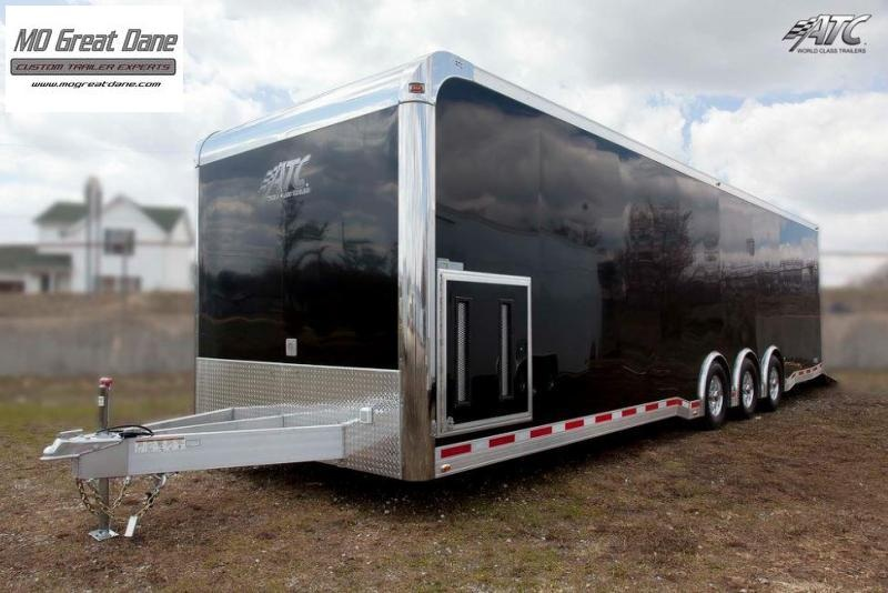 2022 ATC QUEST CH305 8.5 x 32 Aluminum Car / Racing Trailer EXP COMPLETION SEPTEMBER