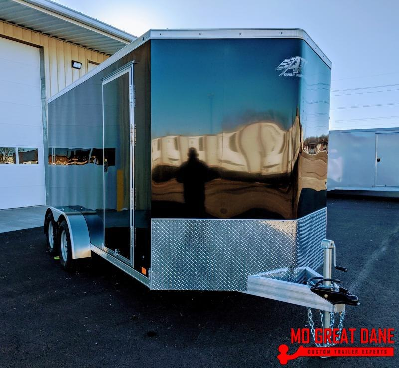 2020 ATC RAVEN 7 x 14 V-nose Aluminum Enclosed Cargo Trailer