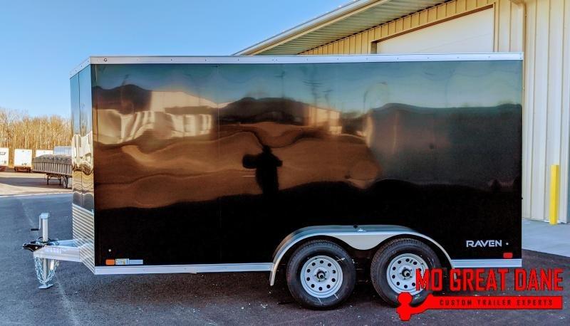 2020 ATC RAVEN 7 x 14 V-nose Aluminum Enclosed Cargo Trailer
