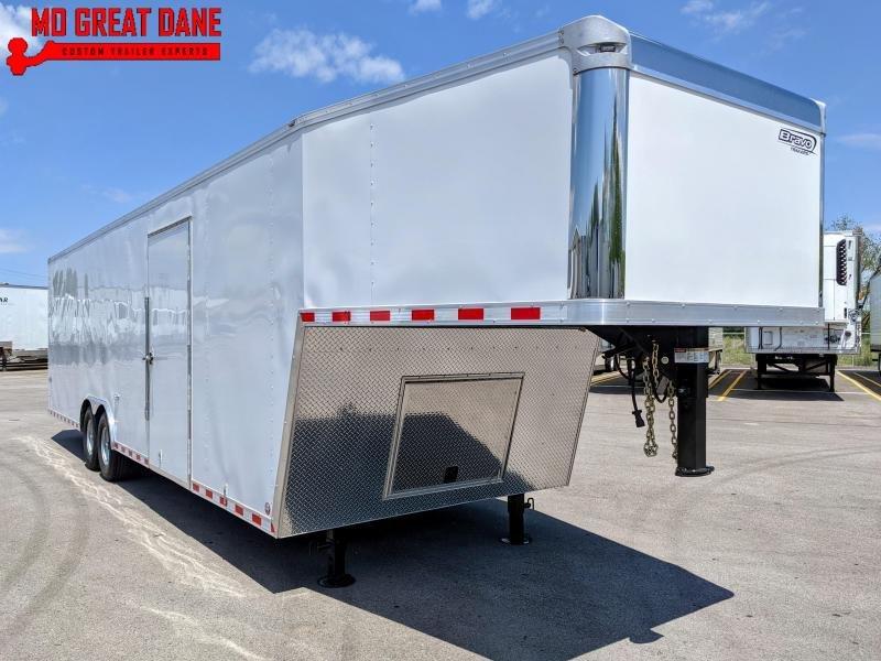 2022 Bravo Trailers Star Gooseneck 8 5 x 28 Cargo Enclosed Trailer EXPECTED COMPLETION NOV